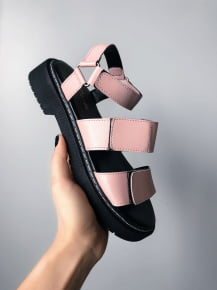 SÁNDALIA FLAT ROSA CANDY GRUNGE ANNY